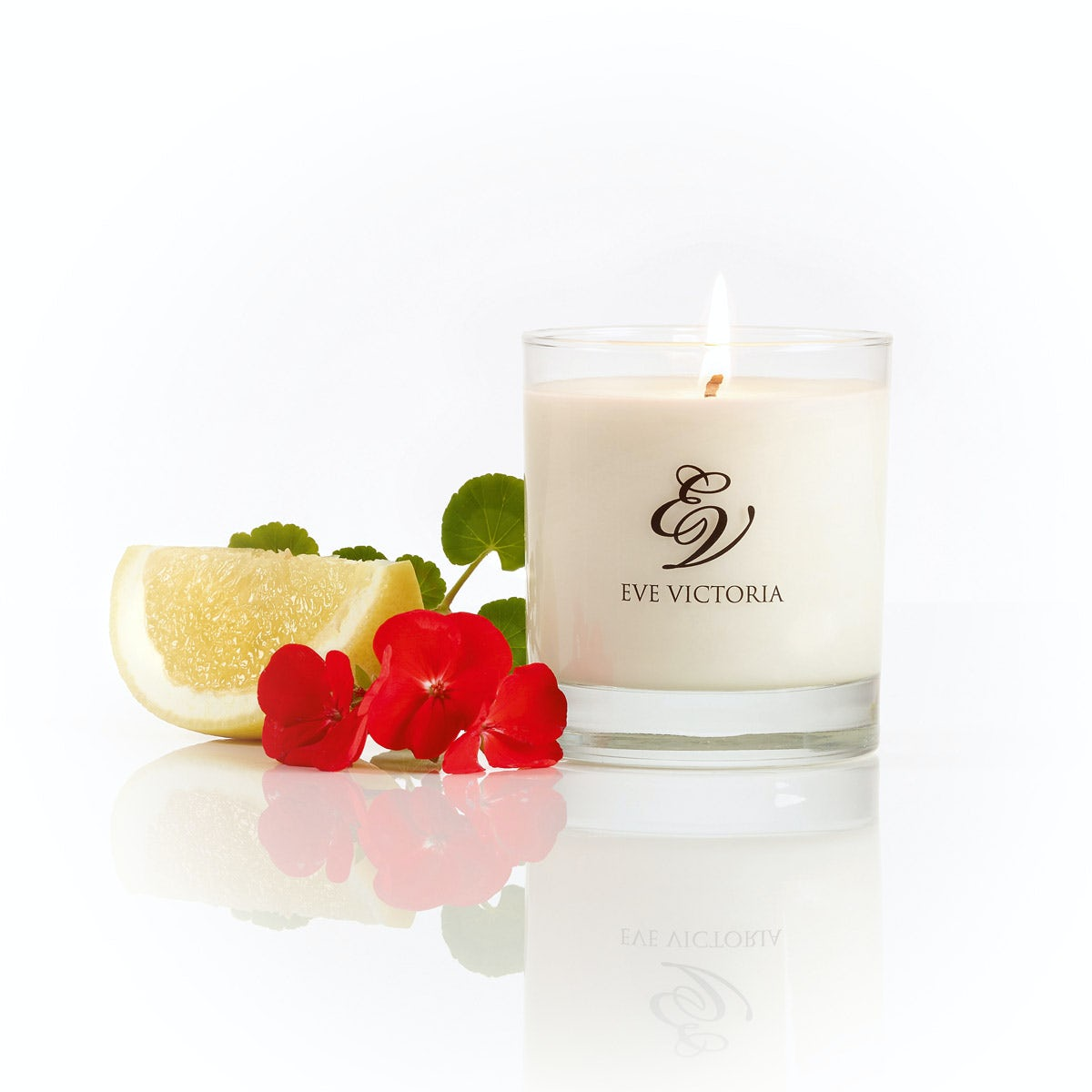 Eve Victoria Geranium, grapefruit & patchouli large candle 30cl