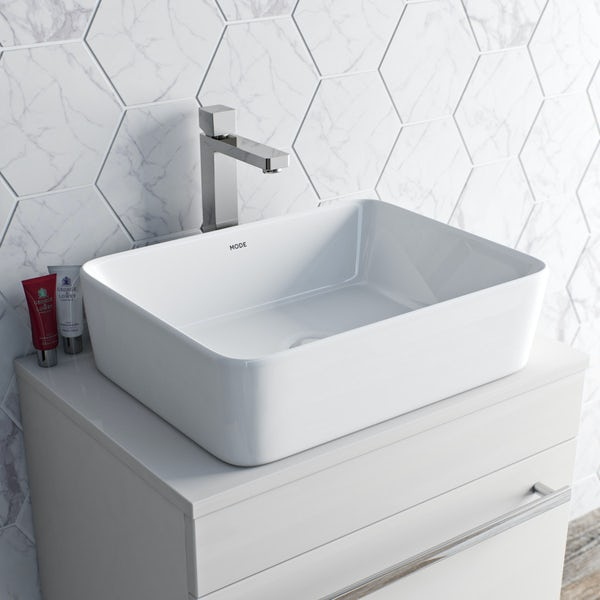 Mode Austin high rise basin mixer tap