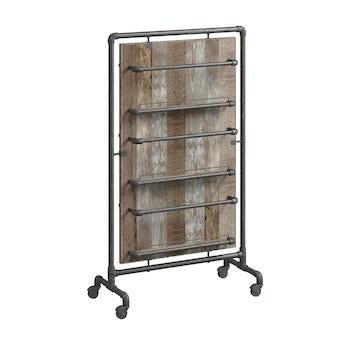 Reeves Sawyer wide storage rack