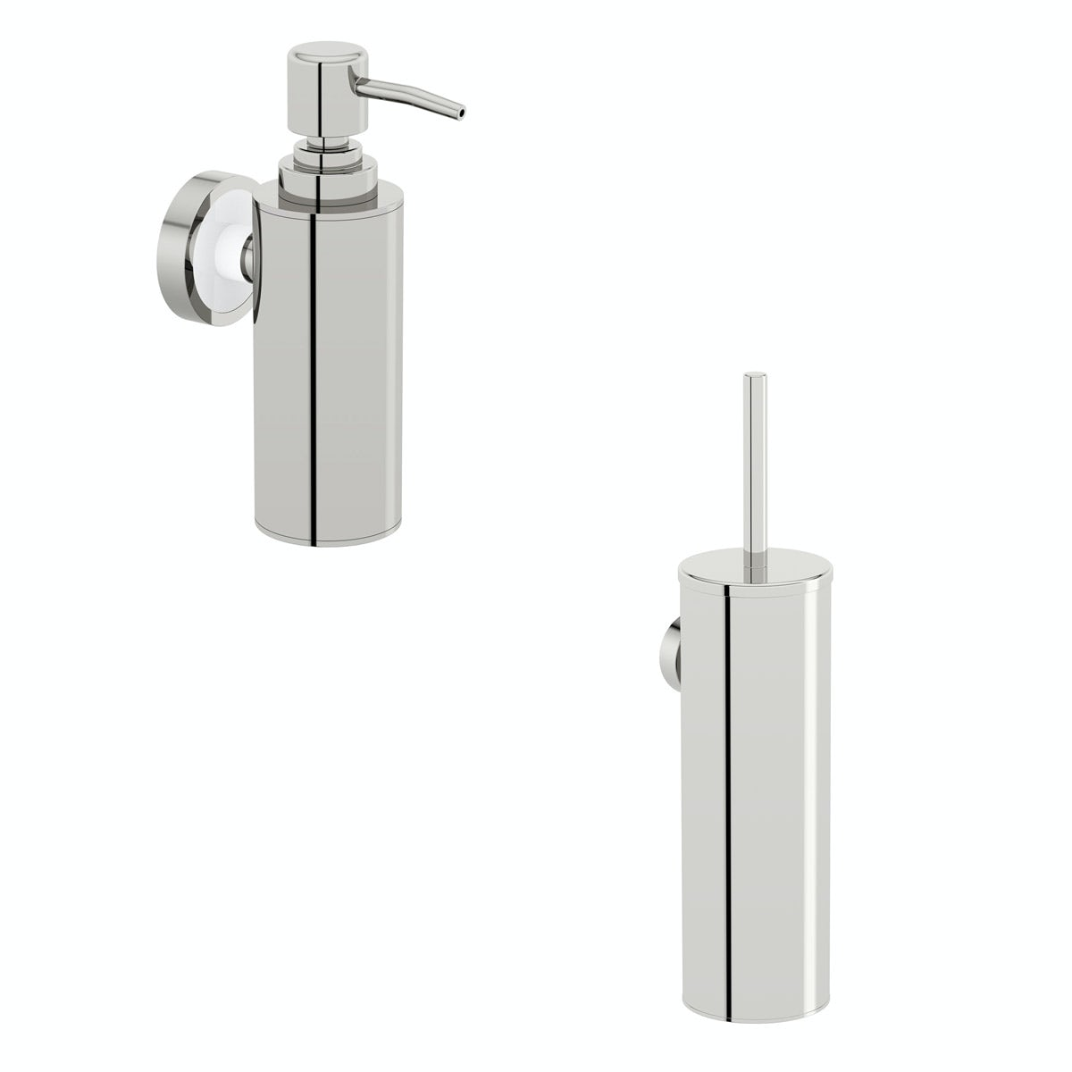 Orchard Options stainless steel 2 piece wall mounted accessory set
