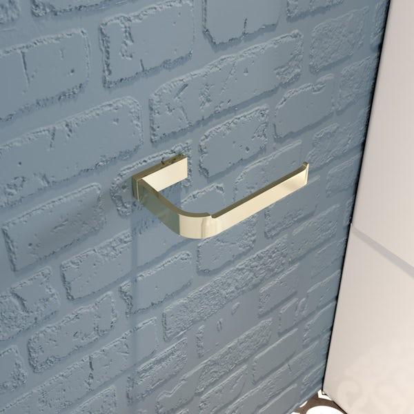 Mode Spencer gold toilet roll holder
