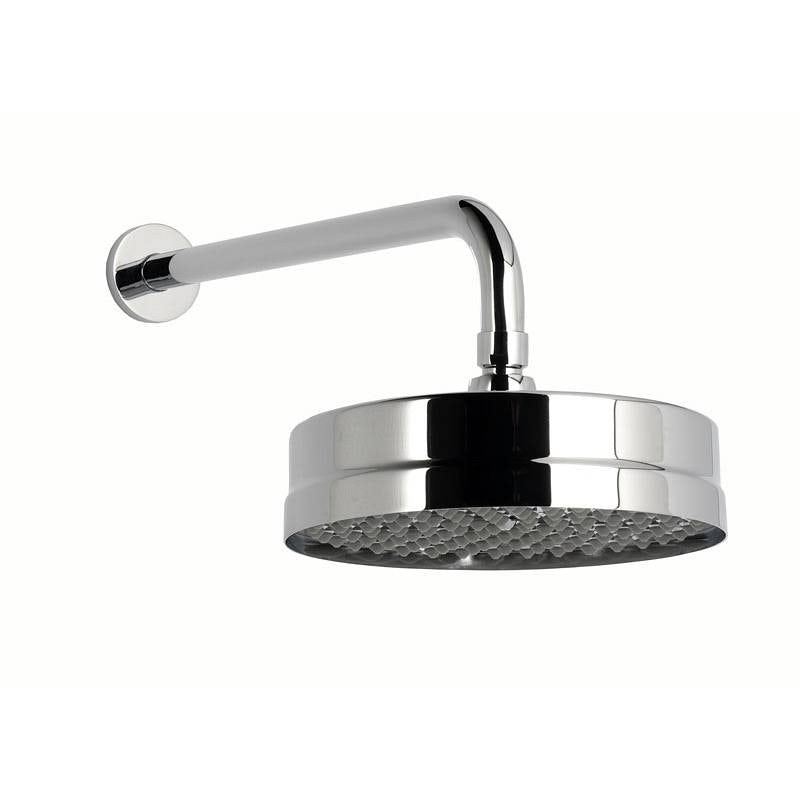 The Bath Co. Camberley shower head with round wall arm