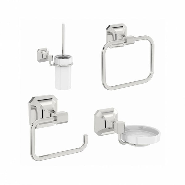 Camberley Cloakroom Accessory Set