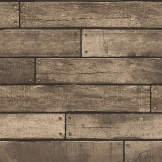 Wooden Plank Sidewall - Gold