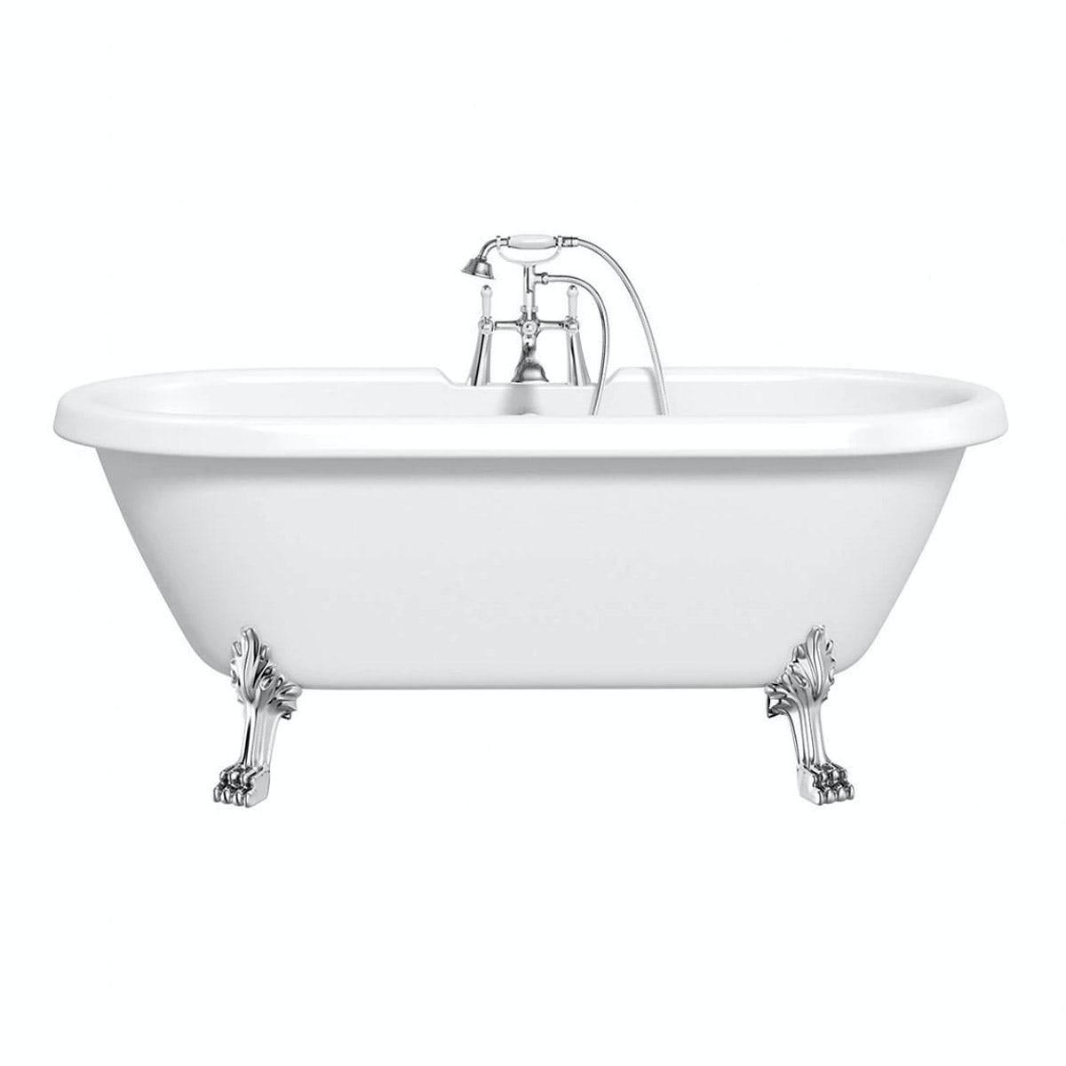 Dulwich Roll Top Bath Small with Dragon Feet