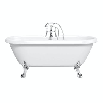 The Bath Co. Dulwich Roll Top Bath With Dragon Feet