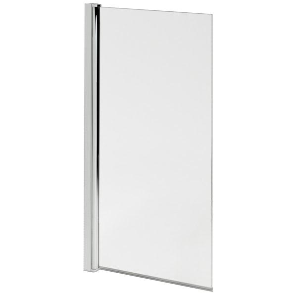 Ideal Standard Tesi straight bath and radius screen 1700 x 700