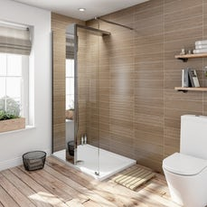 Image of V6 Designer Shower System 1200 x 800 inc Tray