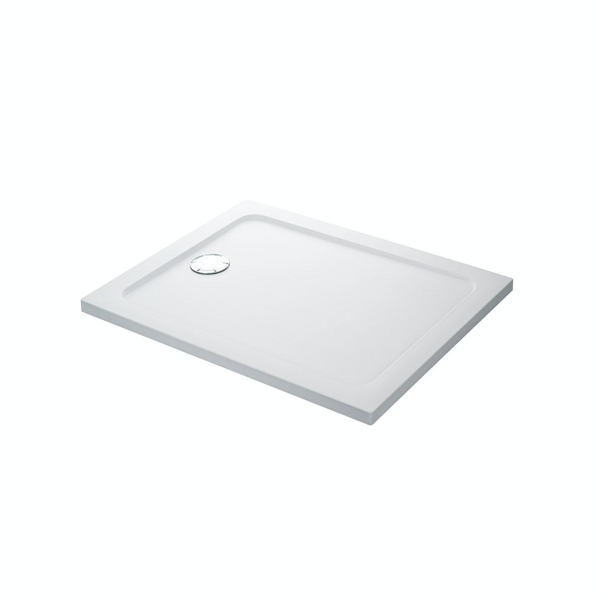 Mira Flight Safe low level anti-slip rectangular shower tray 1200 x 800