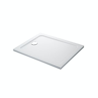 Mira Flight Safe low level anti-slip rectangular shower tray