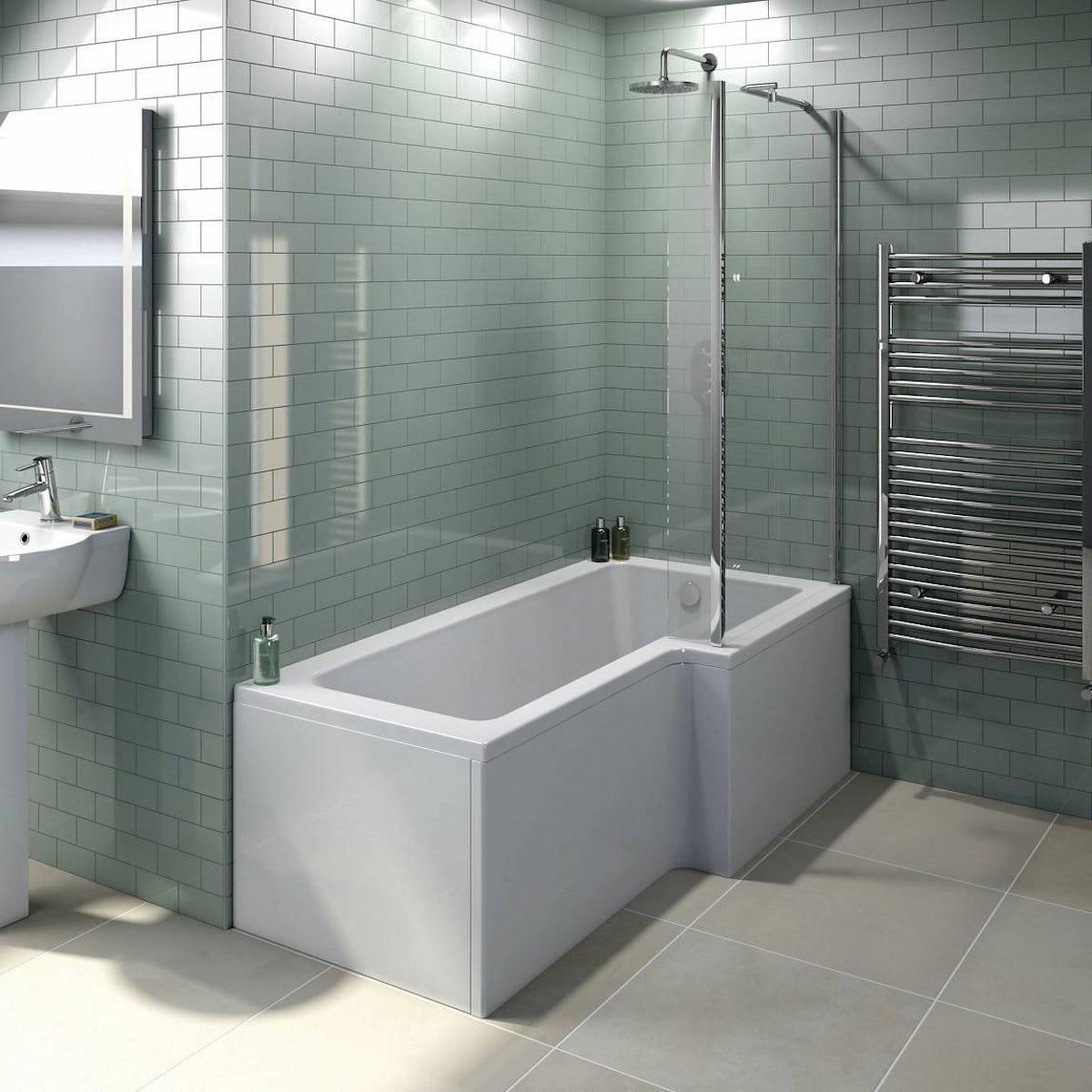 Boston Shower Bath 1500 X 850 RH Inc Screen