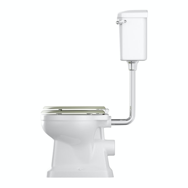 The Bath Co, Camberley low level toilet inc sage soft close seat