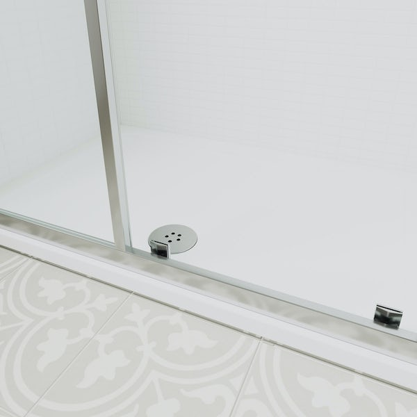Ideal standard low profile rectangular shower tray for Diagonal ideal standard