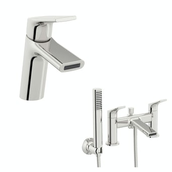 Purity Basin and Bath Shower Mixer Pack