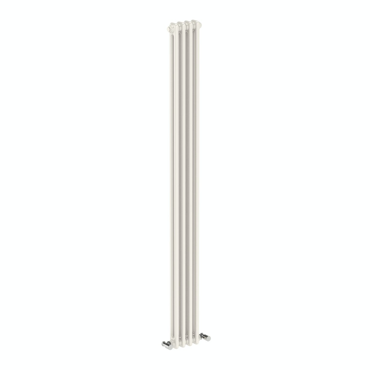 The Bath Co. Dulwich vertical white double column radiator 1800 x 200