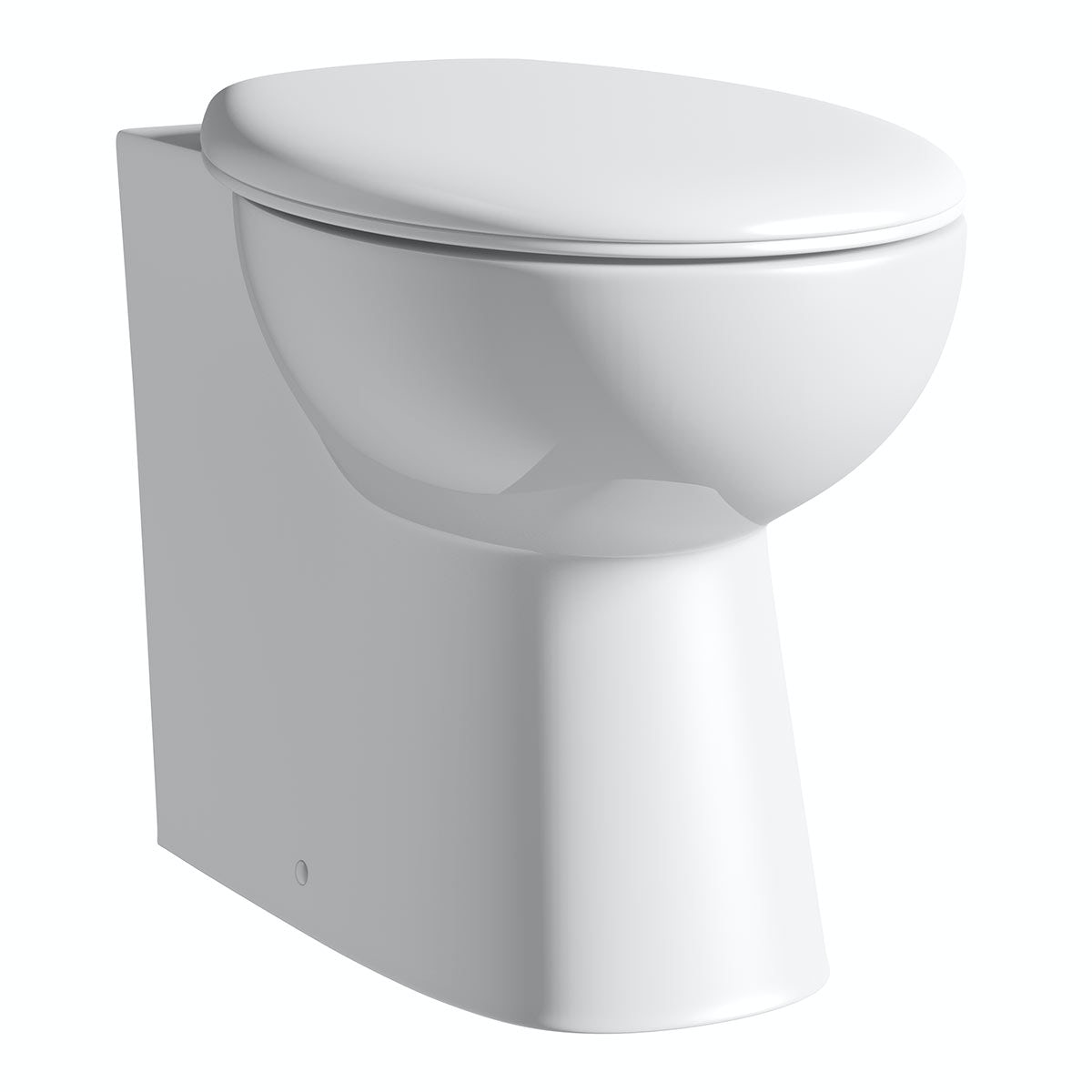 Clarity back to wall toilet with seat