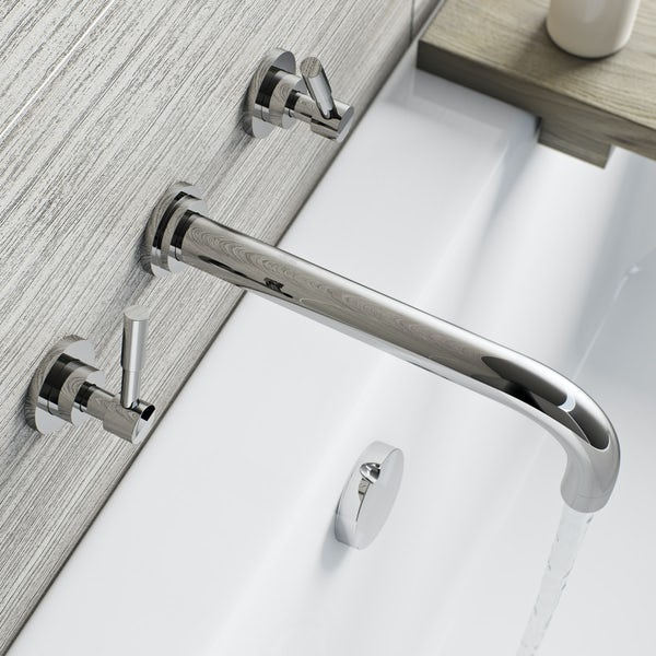 Harrison wall mounted bath mixer tap