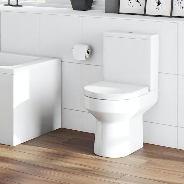 Oakley Bathroom set with Quadrant Enclosure 800 & Tray