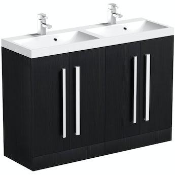 Arden essen double basin unit 1200mm