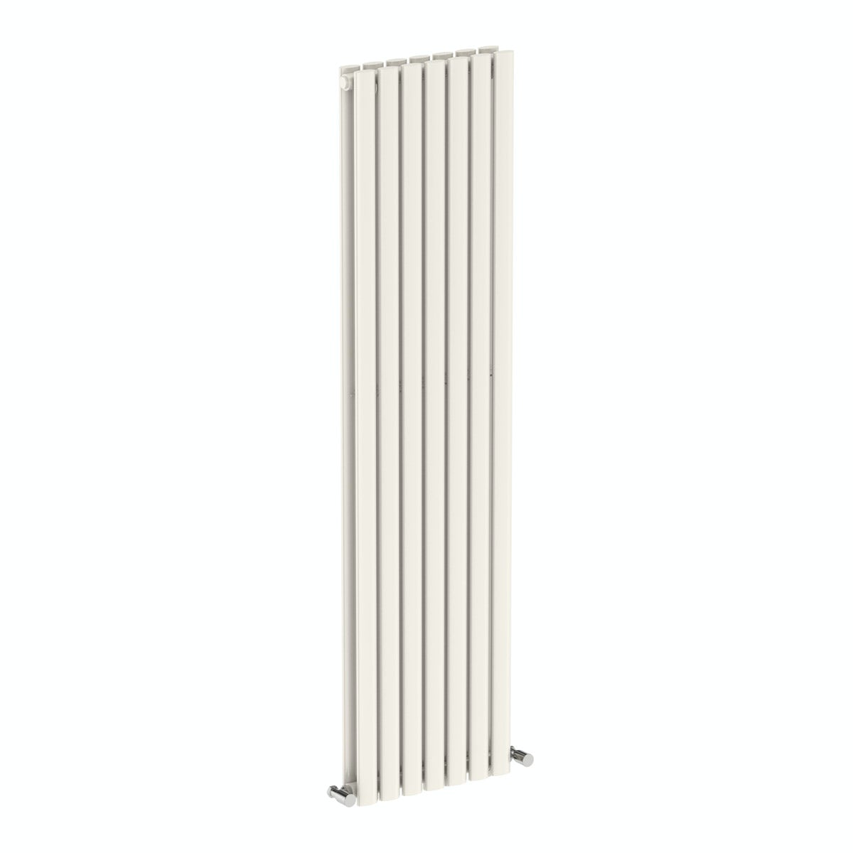 Mode Tate white double vertical radiator 1600 x 406