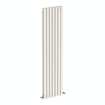 Lava white double vertical radiator 1600 x 406 offer pack