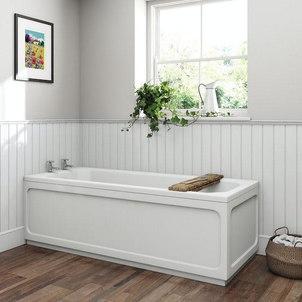 The Bath Co.Camberleysingle ended bath 1700 x 700 with acrylic front panel