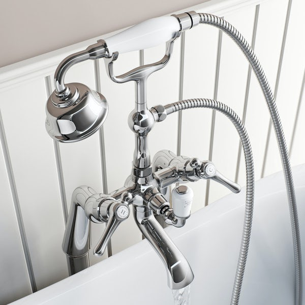 The Bath Co. Camberley lever bath shower mixer tap