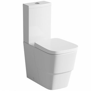 Foster Close Coupled Toilet inc Luxury Soft Close Seat