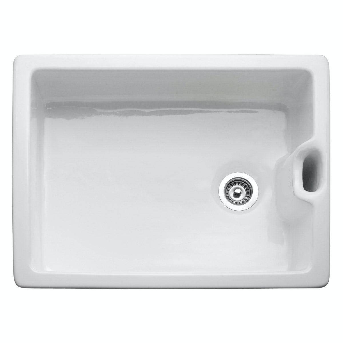 Rangemaster Classic Belfast 1.0 bowl ceramic kitchen sink