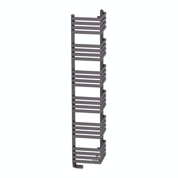 Outcorner modern grey heated towel rail 1545 x 300