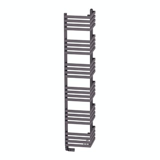 Outcorner modern grey heated towel rail 1545 x 300