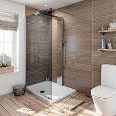 Image of V6 Designer Shower System 1200 x 900 inc Tray