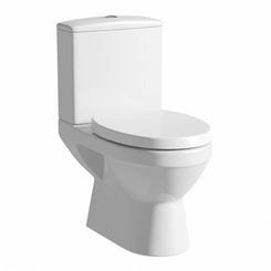 Sorrento close coupled toilet without seat offer pack