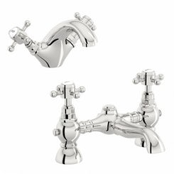 Coniston basin and bath mixer tap pack