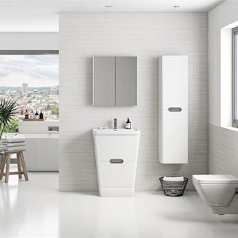 Mode Sherwood white furniture suite
