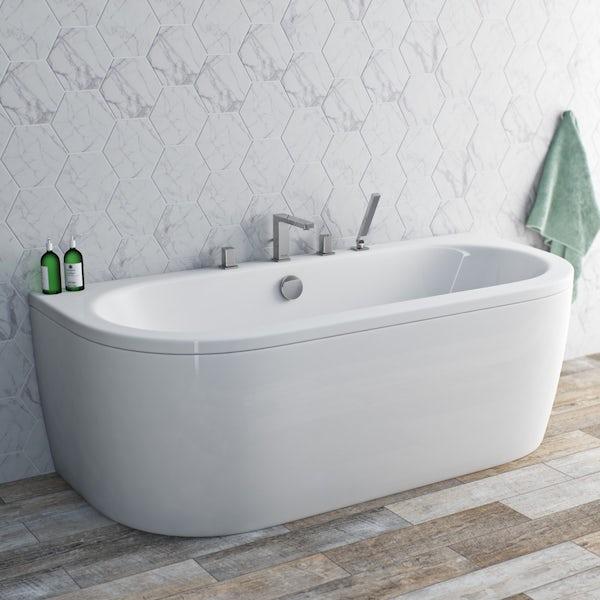 Mode Austin 4 hole bath shower mixer tap offer pack