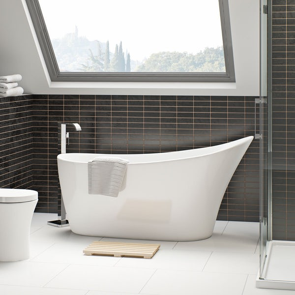 Mode Hardy complete suite with double basin