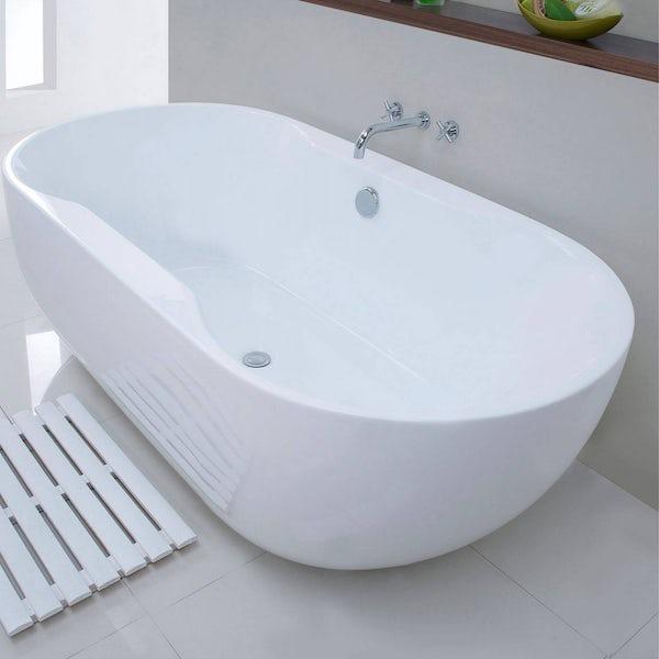 Roll Top Bath Waste C