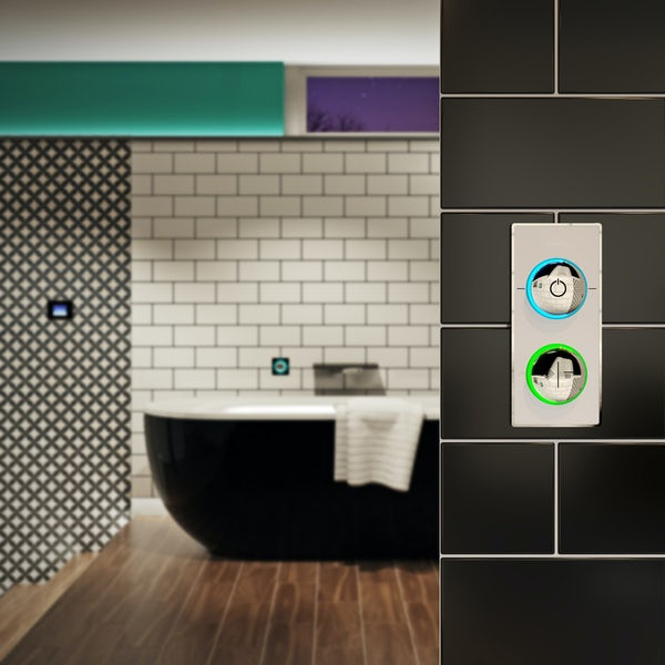 SmarTap & Mode Tate complete suite with freestanding bath with smart fill, taps and wastes