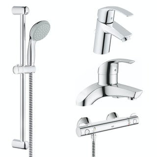 Grohe Main bathroom tap and shower set