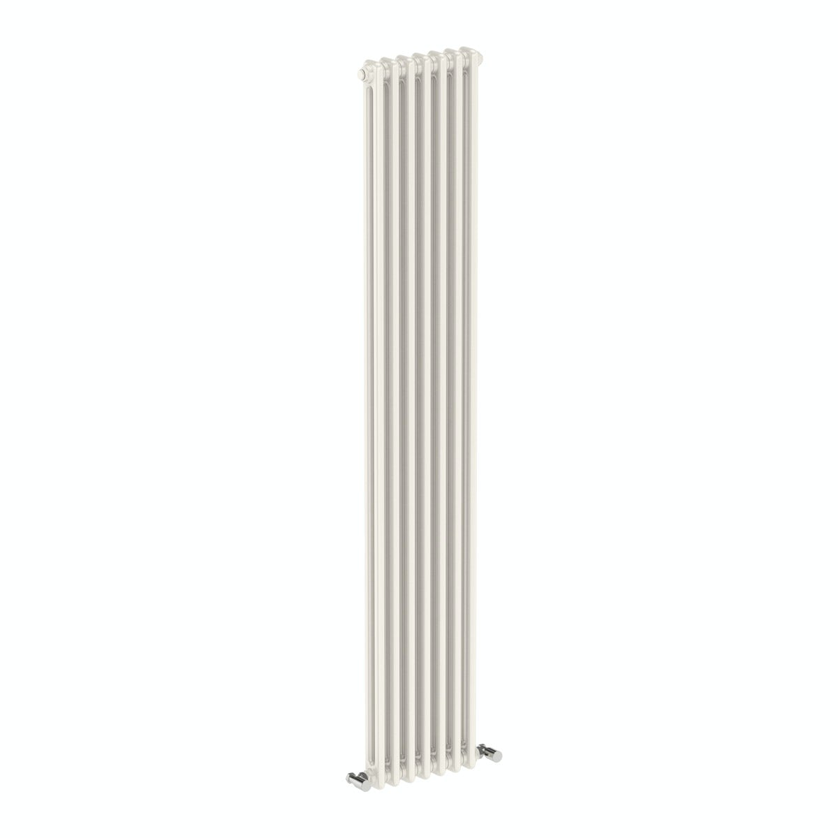 The Bath Co. Dulwich vertical white double column radiator 1800 x 335
