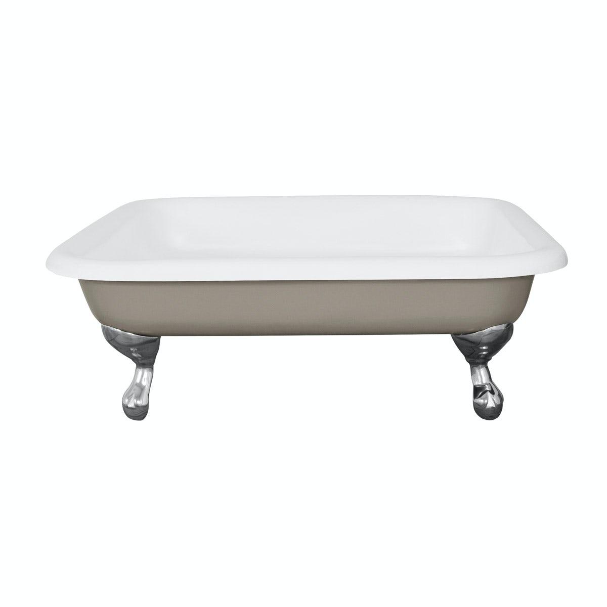 The Bath Co. Lewes pavilion grey cast iron shower tray