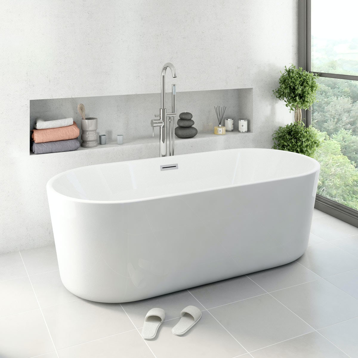 Arte freestanding bath