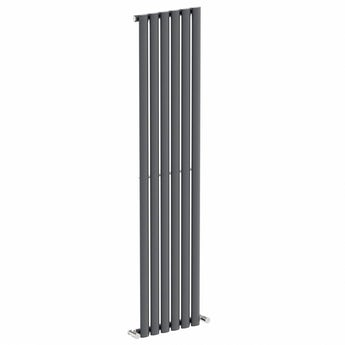 Lava single vertical radiator 1600 x 360