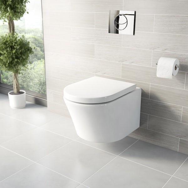 Mode Tate freestanding bath suite