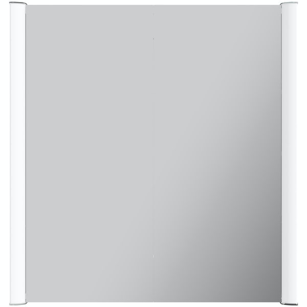 Kiana double diffused LED mirror cabinet