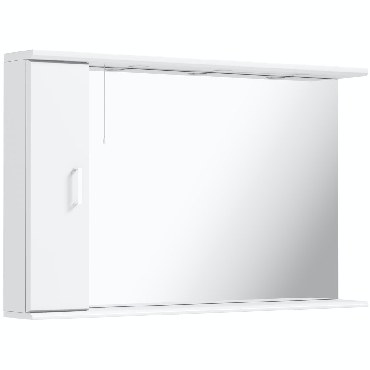 Orchard Eden white illuminated mirror 1200mm
