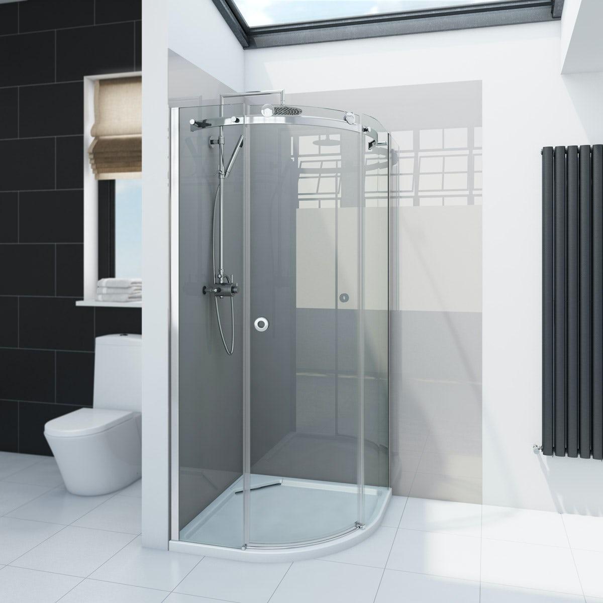 Zenolite plus stone acrylic shower wall panel 2440 x 1220