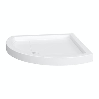Bow quadrant stone shower tray 900 x 900