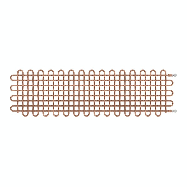 PLC copper horizontal radiator 463 x 1600